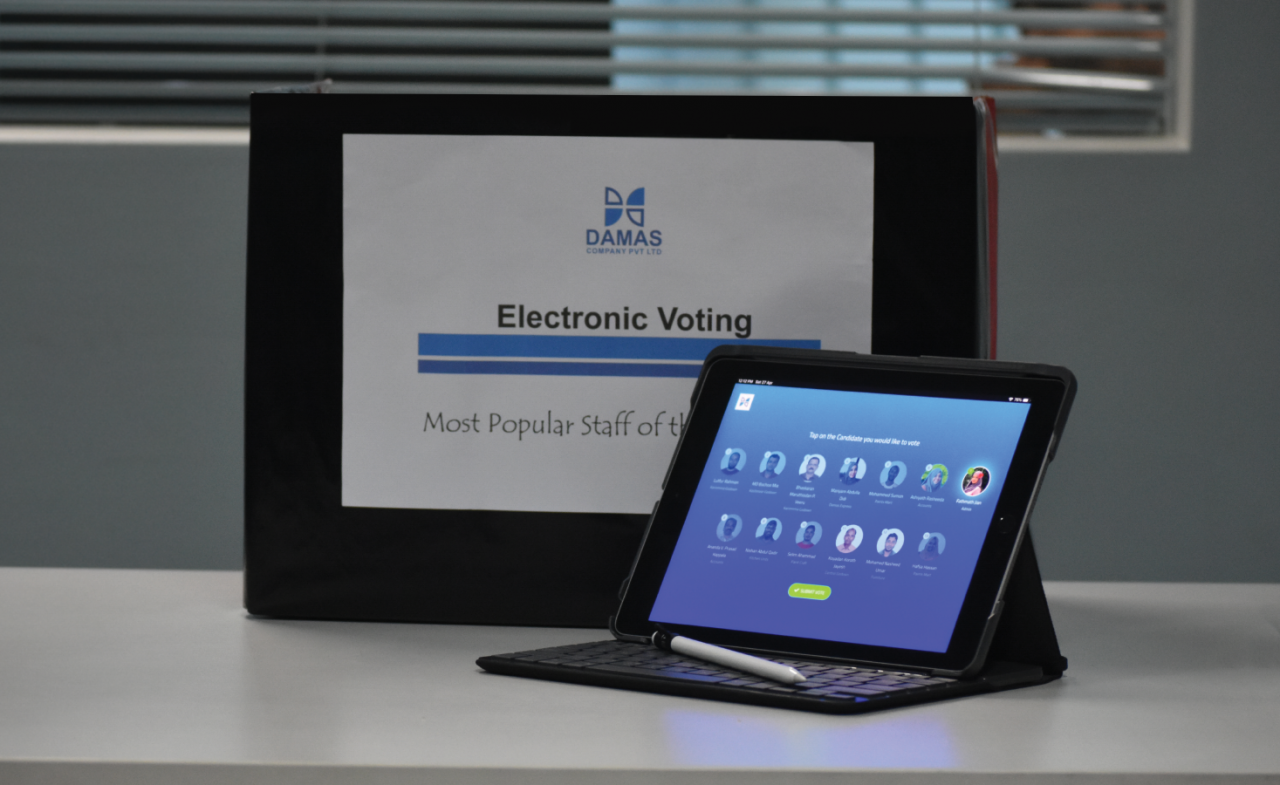 e-Voting to elite Annual Most Popular Staff Contest