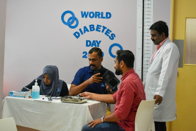 MEDICA HOSPITAL HELD FREE DIABETIC SCREENING IN OCCASION OF WORLD DIABETES DAY